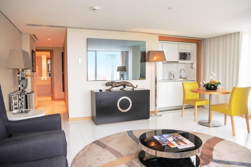 Premium suite at Hotel Presidente Luanda