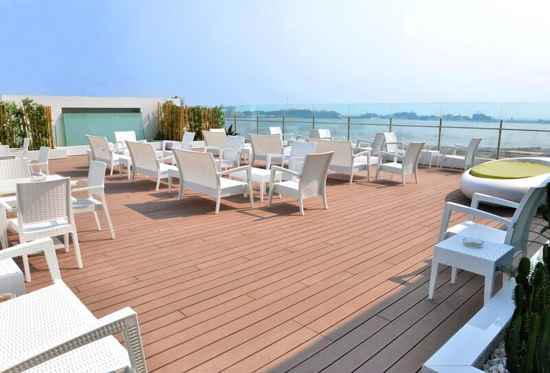 Terrace at Hotel Presidente Luanda