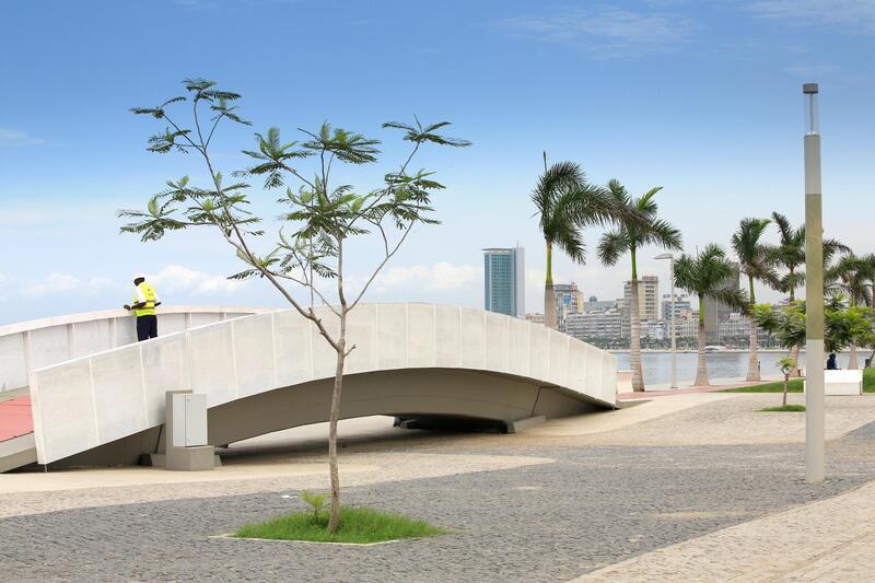 Bay in Luanda