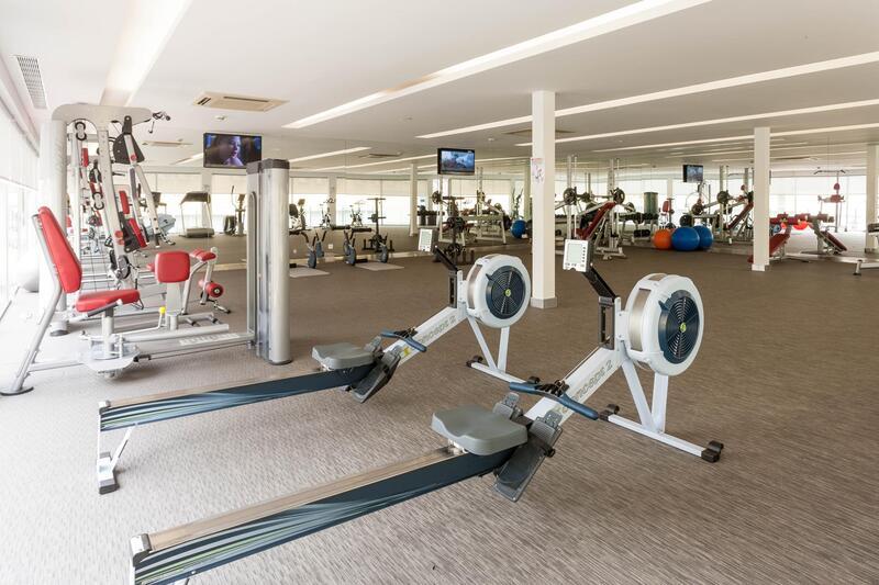 Gym at Hotel Presidente Luanda in Luanda