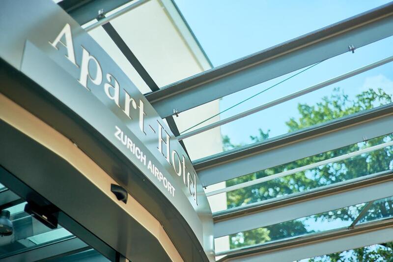 Main entrance at Apart-Hotel Zurich Airport