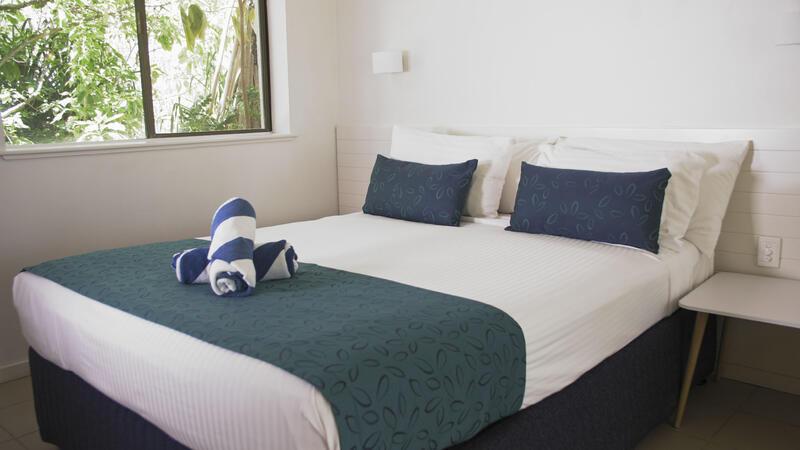 Reef Rooms at Heron Island Resort in Queensland, Australia