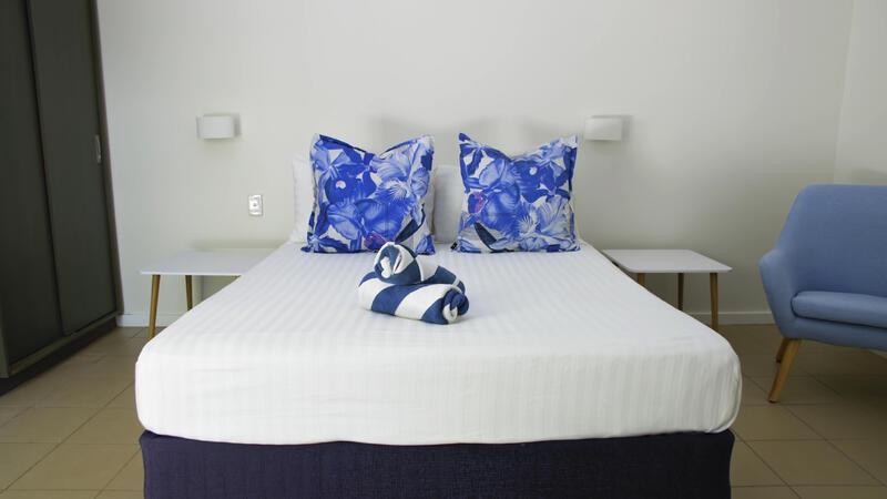 Accommodationa at Heron Island Resort in Queensland, Australia