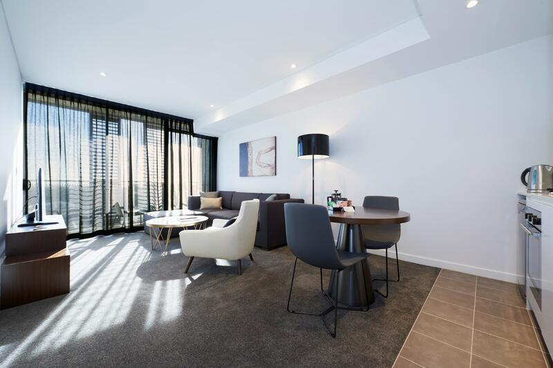 Balcony Studio at Silkari Suites at Chatswood