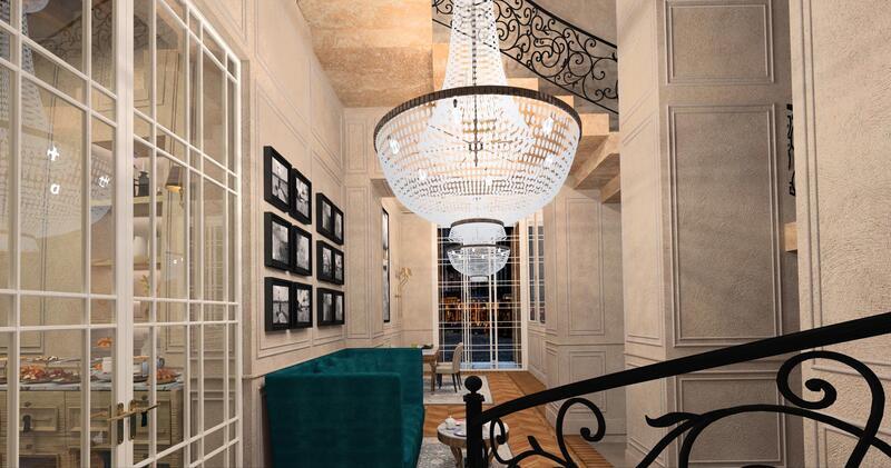 Lamp at Matilde Boutique Hotel