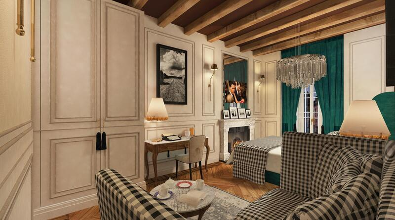 Bedroom Living Room at Matilde Boutique Hotel