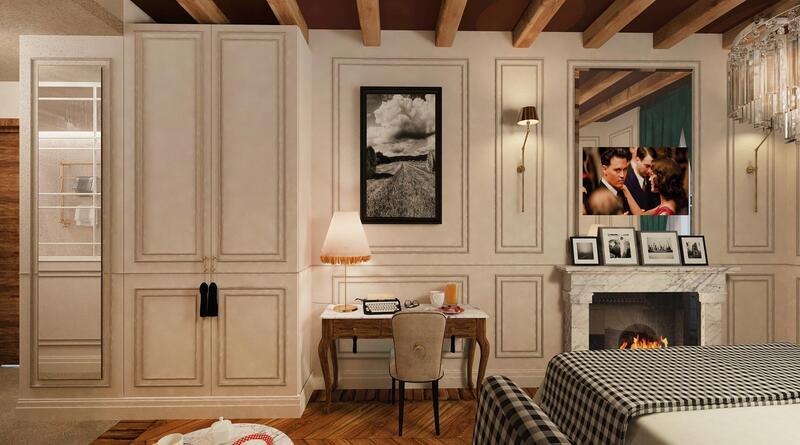 Bedroom at Matilde Boutique Hotel