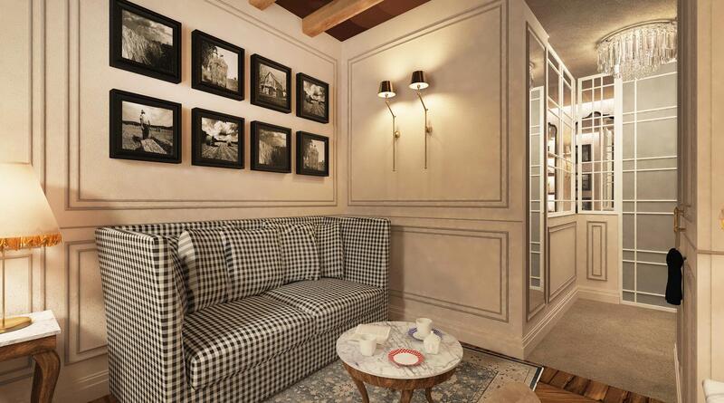 Living room at Matilde Boutique Hotel