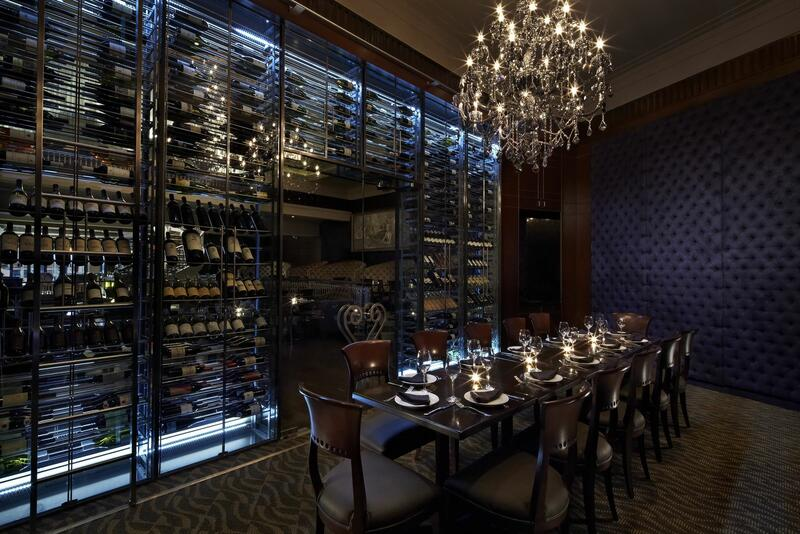 Empire Steak House Wine Room