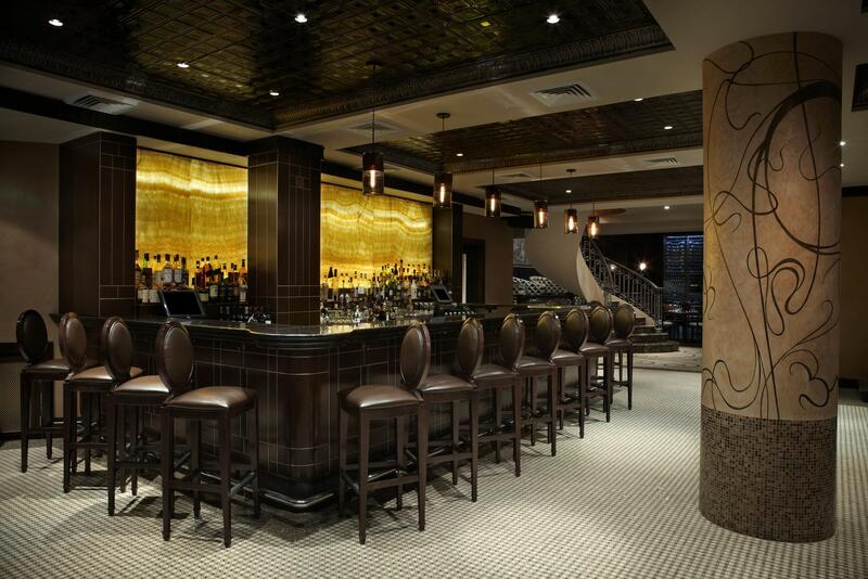 Empire Steak House Bar area