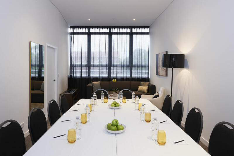 Meeting Room at Silkari Suites at Chatswood Apartments