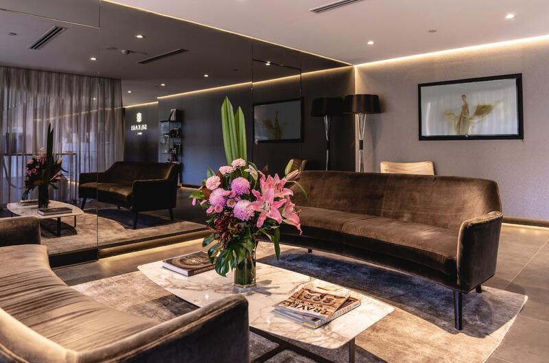 Lobby at Silkari Suites at Chatswood