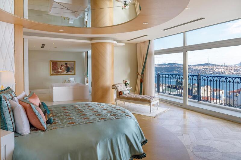 Presidential Suite at CVK Park Bosphorus Hotel Istanbul