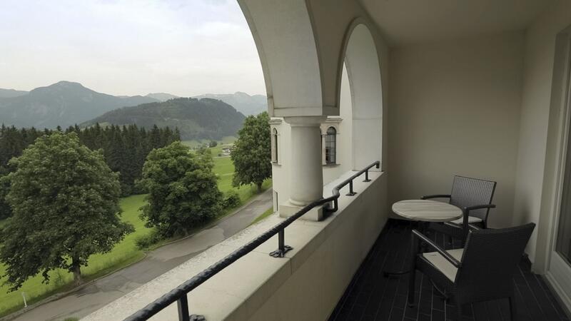 Views from Schloss Pichlarn Hotel in Austria