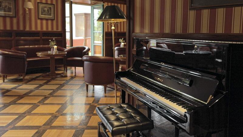 Lounge at Schloss Pichlarn Hotel in Austria