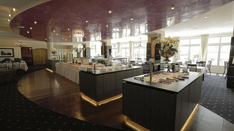 Breakfast at Schloss Pichlarn Hotel in Austria