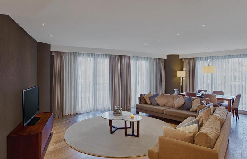 Four-Bedroom Suite at CVK Park Prestige Suites in Istanbul