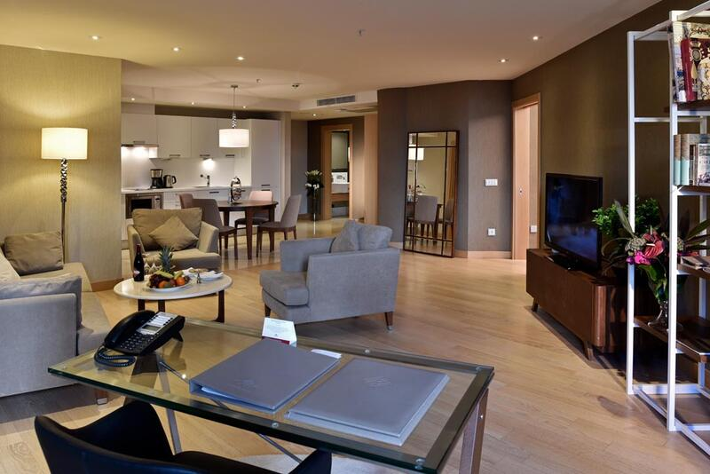 One-bedroom Suite at CVK Park Prestige Suites in Istanbul