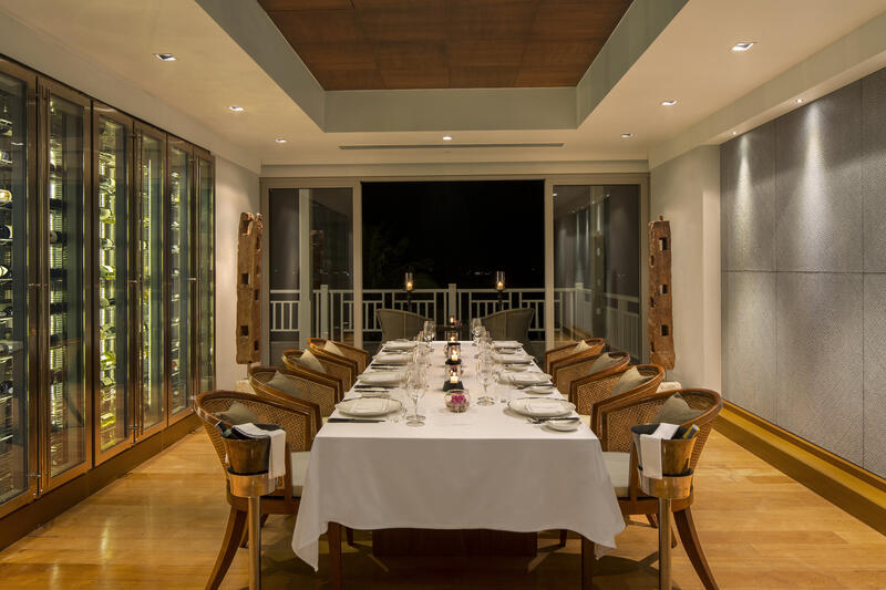 Private dining at The Grill