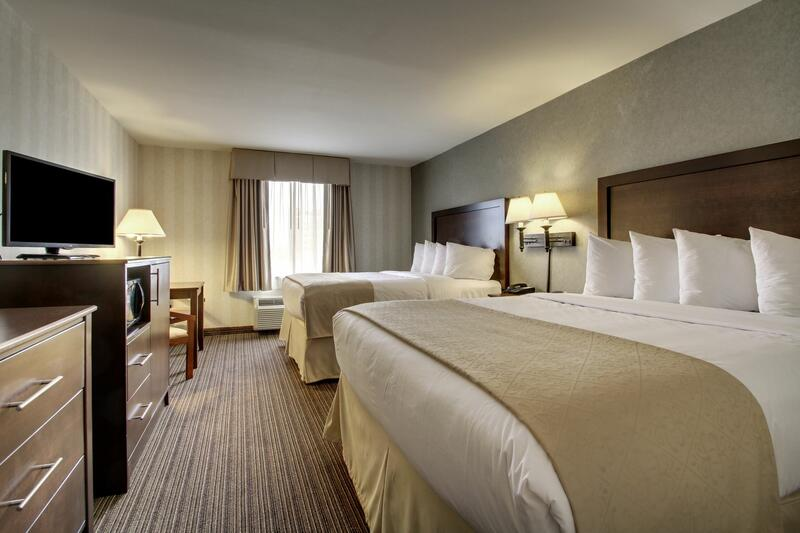 standard double room beds