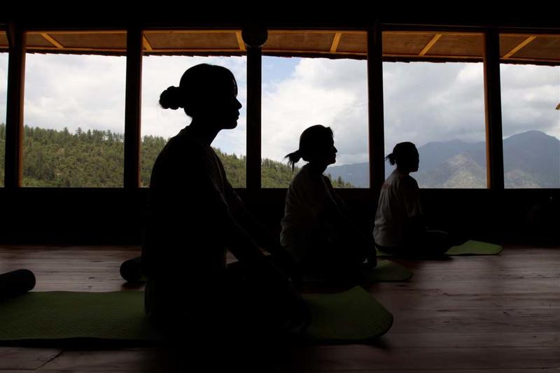 Yoga at Naksel Boutique Hotel And Spa in Paro, Bhutan