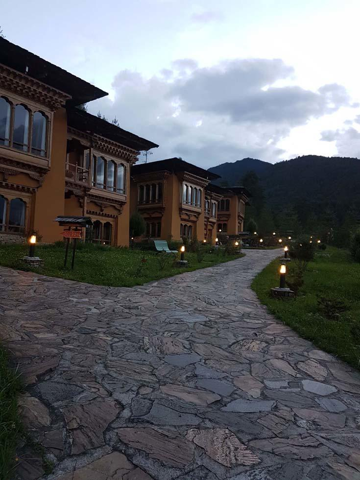Cottages at Naksel Boutique Hotel And Spa in Paro, Bhutan