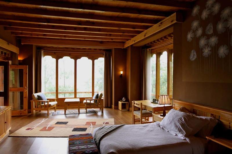 Deluxe Room at Naksel Boutique Hotel And Spa in Paro, Bhutan