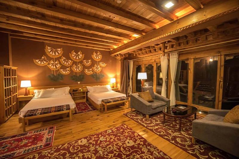 Junior Suite at Naksel Boutique Hotel And Spa in Paro, Bhutan