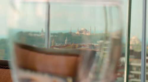 Detail at CVK Park Bosphorus Hotel Istanbul