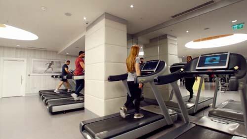 Gym at CVK Park Bosphorus Hotel Istanbul
