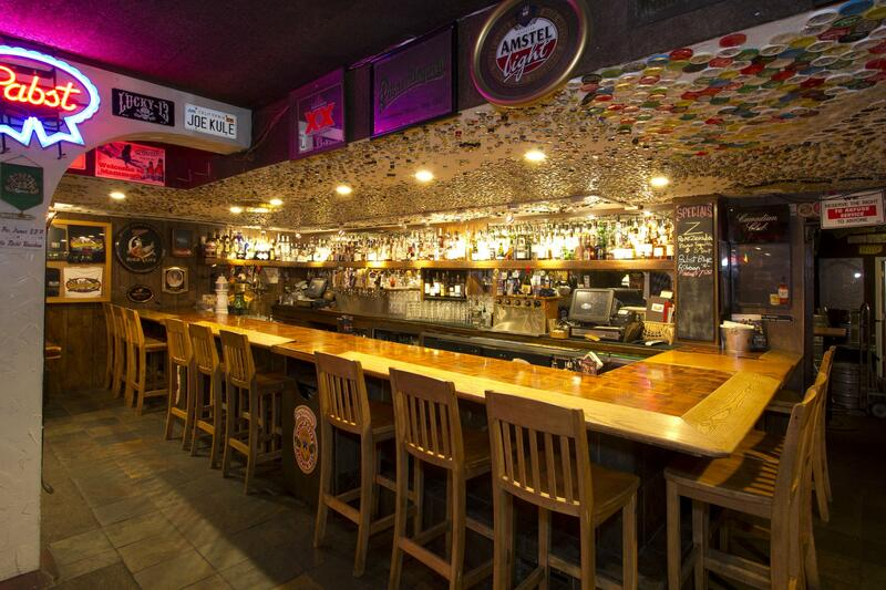 bar seating with bar height stools