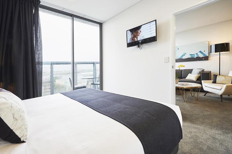 Terrace One Bedroom at Silkari Hotel Chatswood