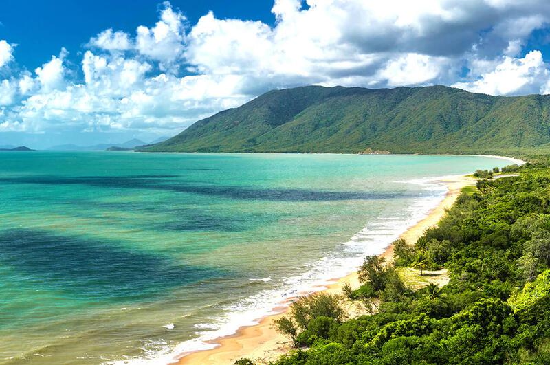 Sandy Beach sorrouned by Green Mountains near Silkari Hotels