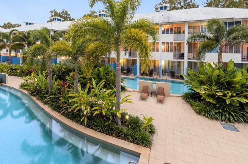 Lagoon Rooms seen from the Outside at Silkari Hotels Port Dougla