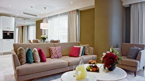 Accommodation at CVK Park Prestige Suites in Istanbul