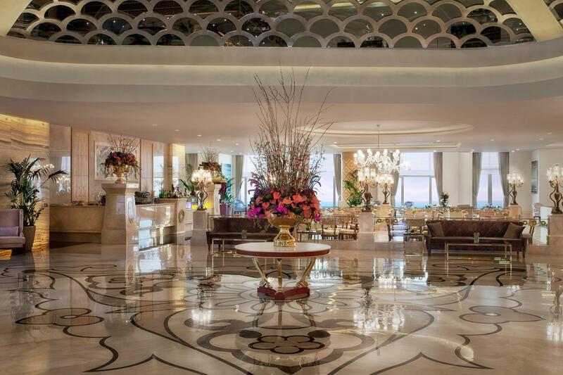 Lobby at CVK Park Bosphorus Hotel Istanbul