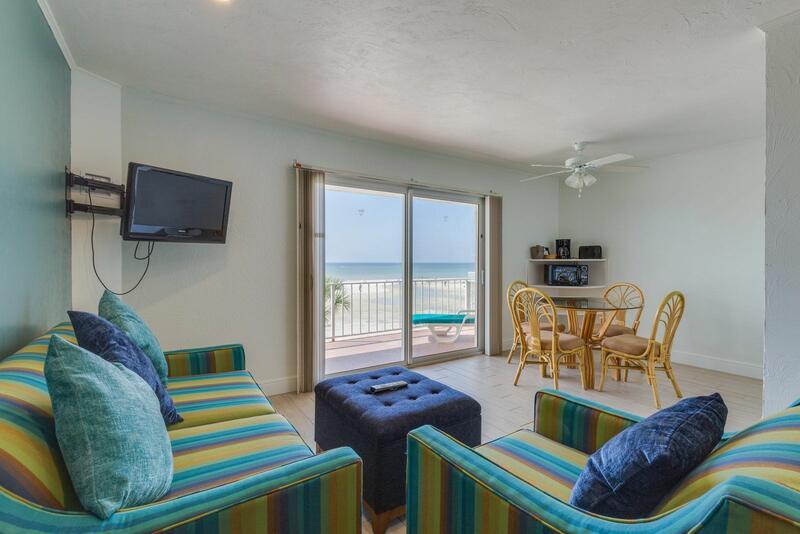 Beachfront Living Area