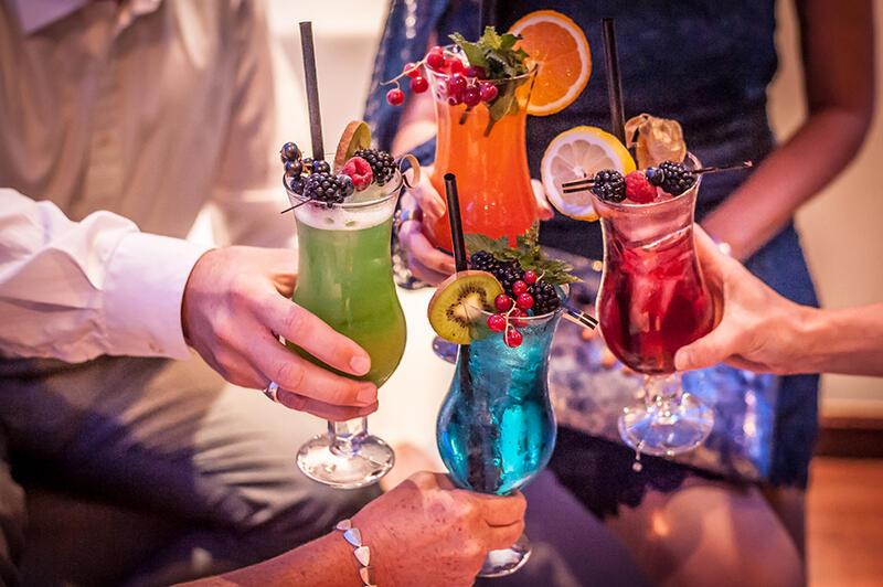 Bar Discothek Unterhaltung La Boum Hotel Frankenland Bad Kissing