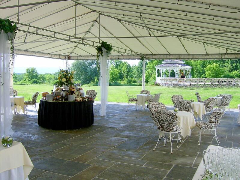 Outdoor Wedding Terrace