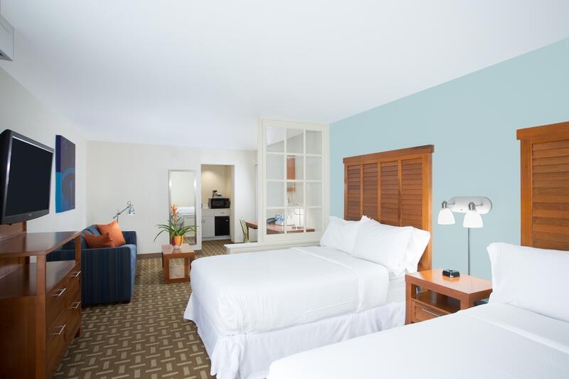 junior suite double beds