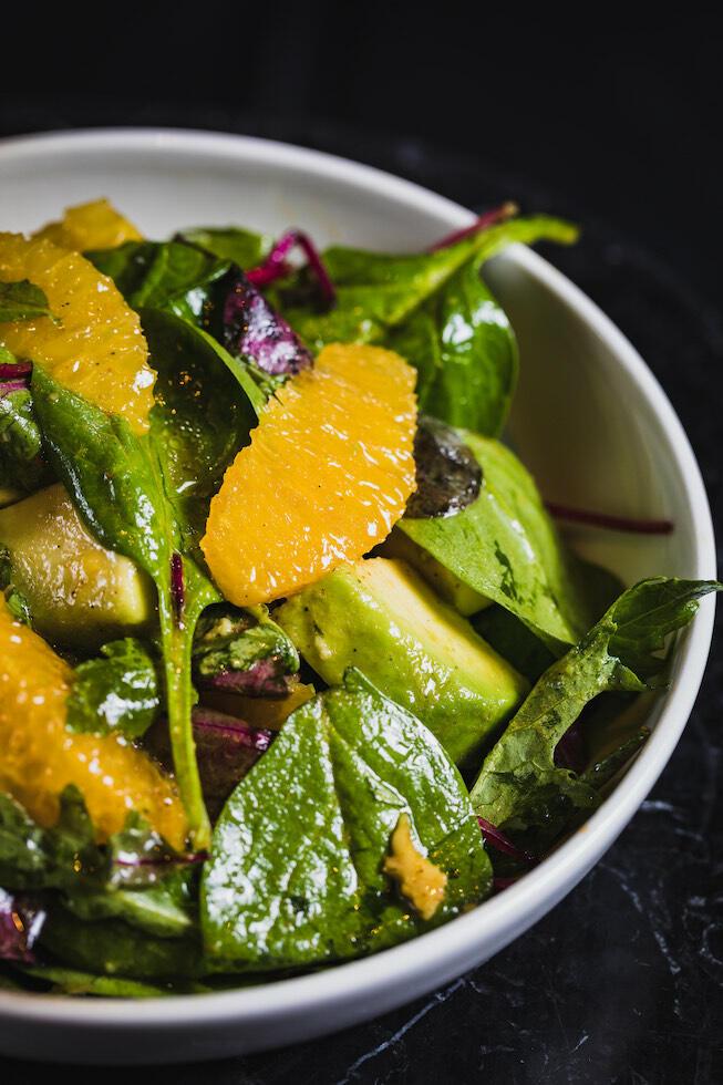 Vegan Salad Dish at May Fair Kitchen