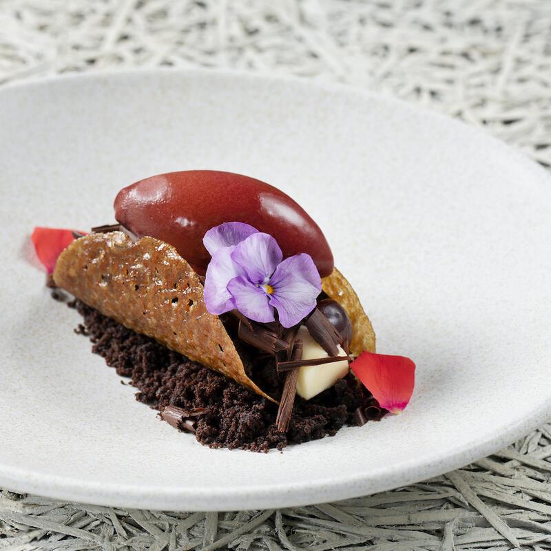 Bloomsbury Street Kitchen White Chocolate Bavarois With Cacao
