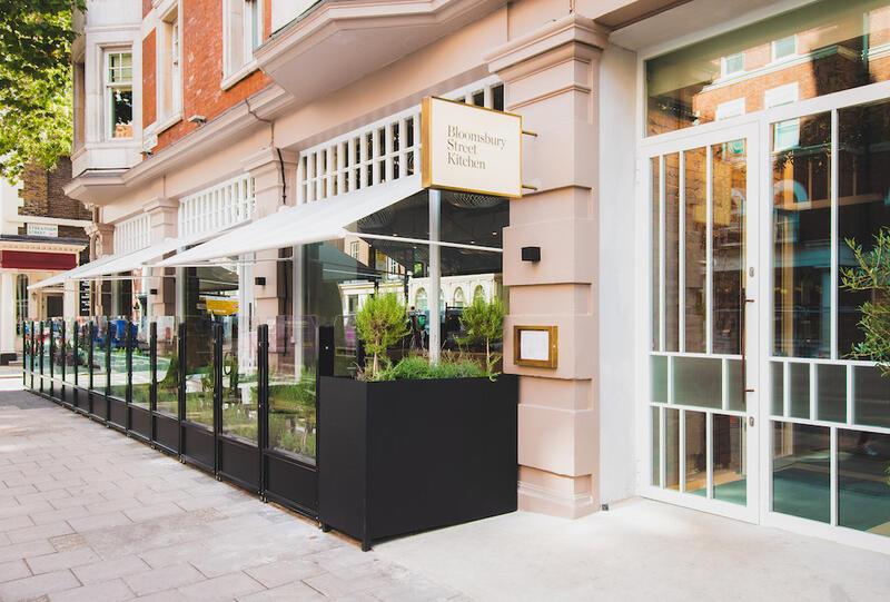 Bloomsbury Street Kitchen Exterior