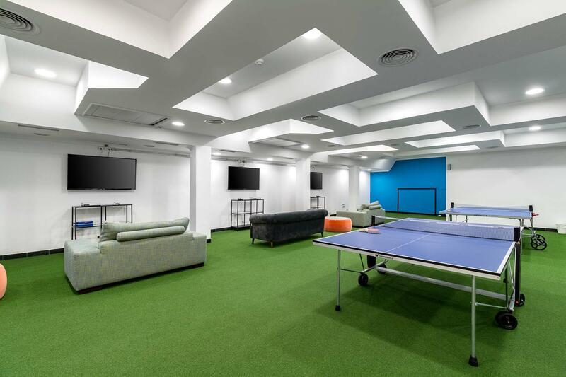 Games room at The Magnolia Hotel Quinta do Lago