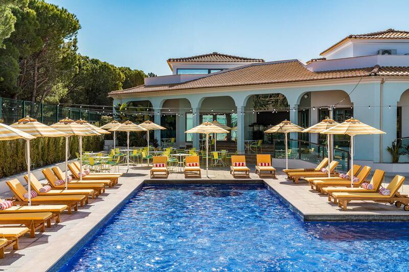 Swimming pool at The Magnolia Hotel Quinta do Lago