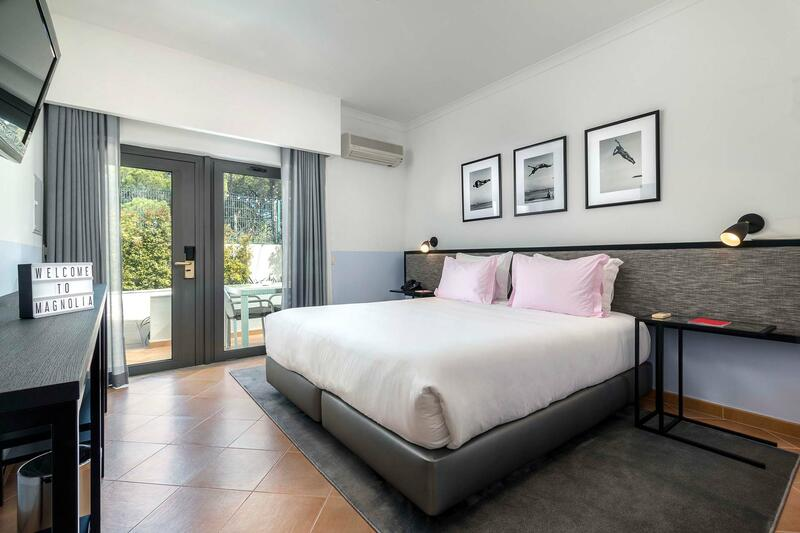 Double room at The Magnolia Hotel Quinta do Lago