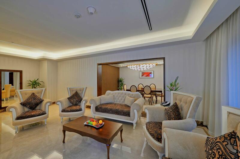 Dining Room of Ambassador Suite at Ghaya Grand Hotel Dubai