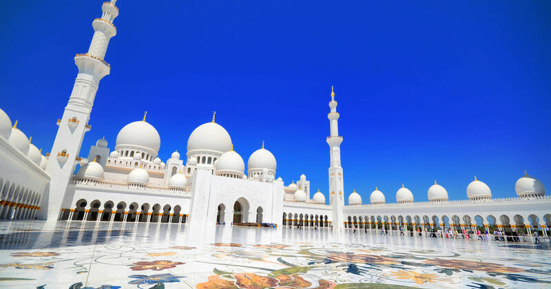 Sheikh Zayed Grand Mosque Dubai