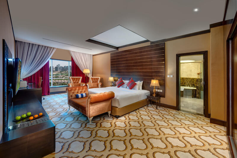 Ambassador Suite at Ghaya Grand Hotel Dubai