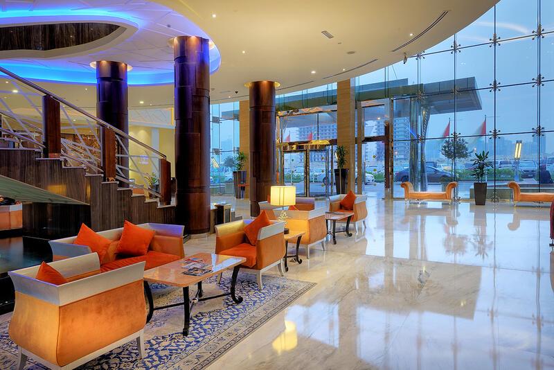 Ghaya Grand Hotel Lobby